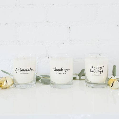 The Little Market Holiday Candles {The Little Market}