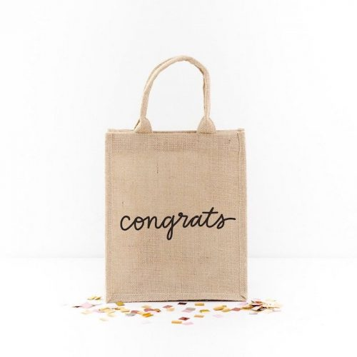 Congratulations Gift Tote {The Little Market}