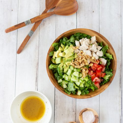 Be-Well-By-Kelly-LeVeque-Chicken-Avocado-Salad-Recipe-{The-Little-Market} 1