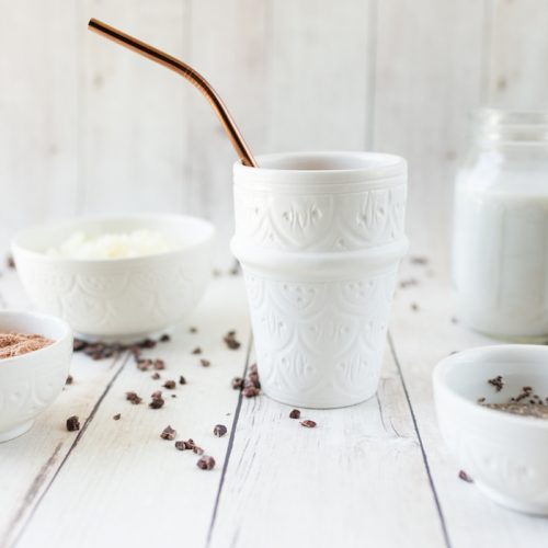 Be-Well-By-Kelly-LeVeque-Chocolate-Chili-Olive-Oil-Smoothie-Mexican-Hot-Chocolate-Smoothie-Recipe-{The-Little-Market}
