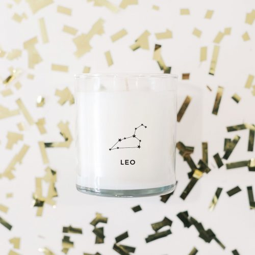 Leo Constellation Prosperity Candle | The Little Market