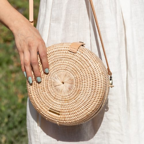 Woven Rattan Bags {The Little Market}