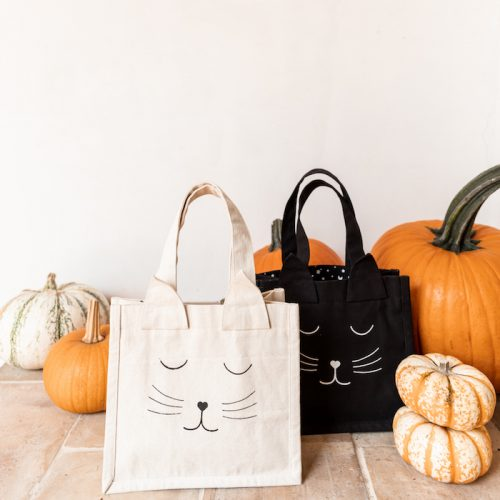The Little Market Fall + Halloween - New Canvas Tote Bags | The Little Market