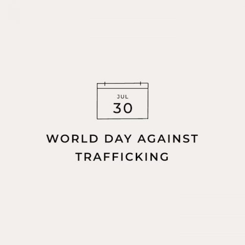 World Day Against Trafficking | The Little Market Graphic